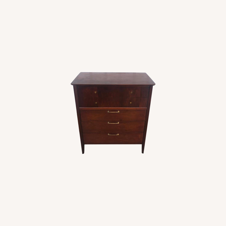 Drexel Mid Century Modern Highboy Dresser - image-0