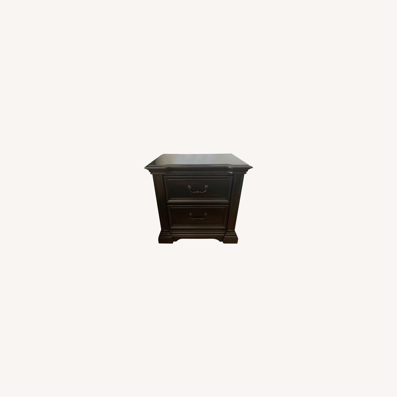 Macy's Wood Nightstands - image-0