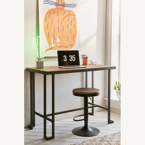 Used Urban Outfitters Roman Counter Table with Adjustable Stool for sale on AptDeco