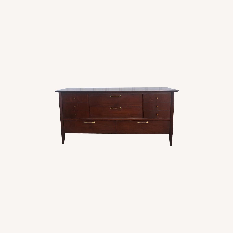 Drexel Mid Century Lowboy Dresser - image-0