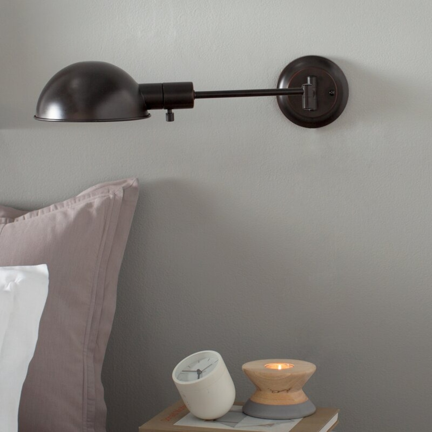 Allmodern Clearmont Arm Lamp Oil Rubbed Bronze - image-1