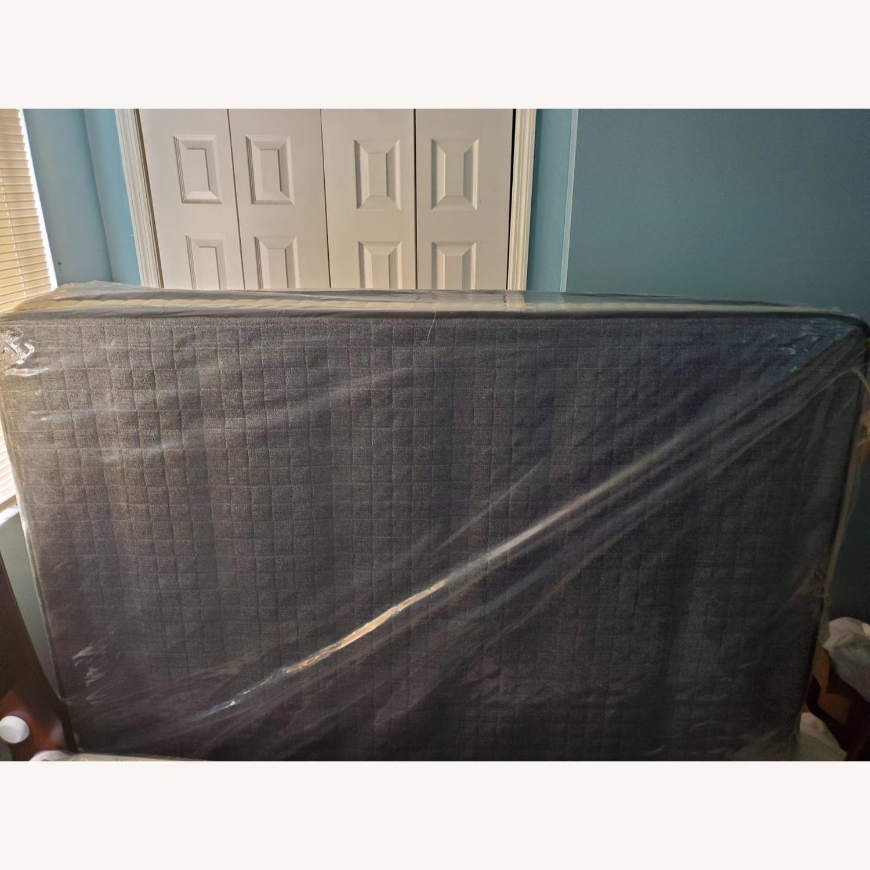 Brown Queen Bed - image-2