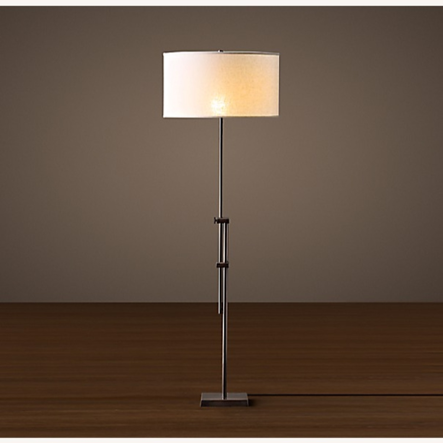 Restoration Hardware Parallel Floor Lamp - image-0