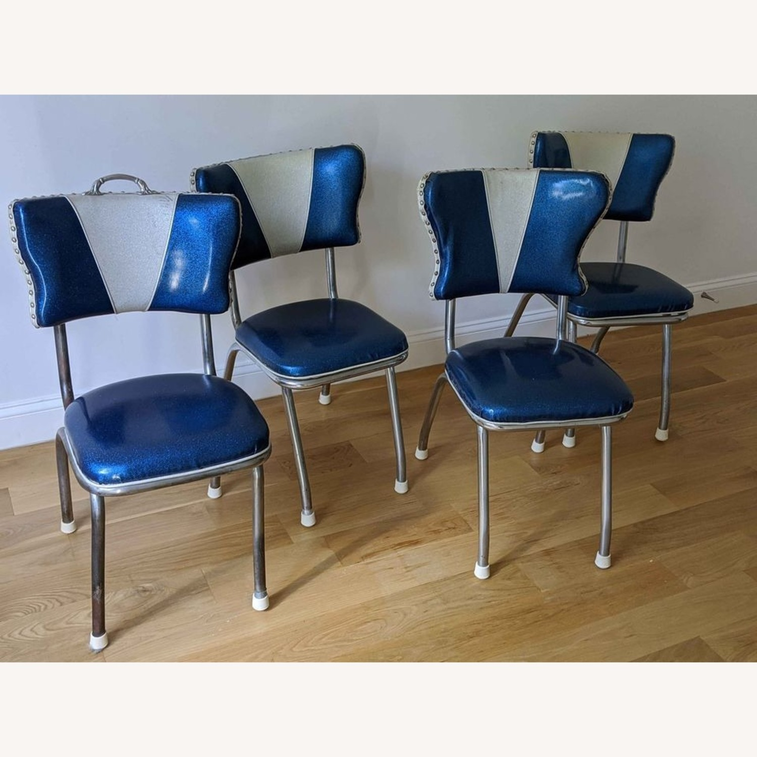 Vintage Diner-Style Chairs and Formica Table - image-2