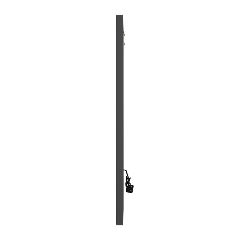 Rectangular Wall Mirror In Silver Finish - image-3