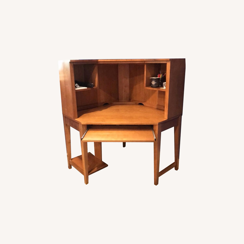 Ethan Allen Corner Desk - image-0