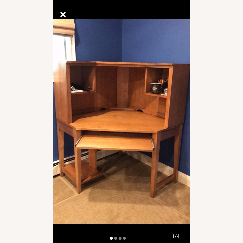 Ethan Allen Corner Desk - image-1