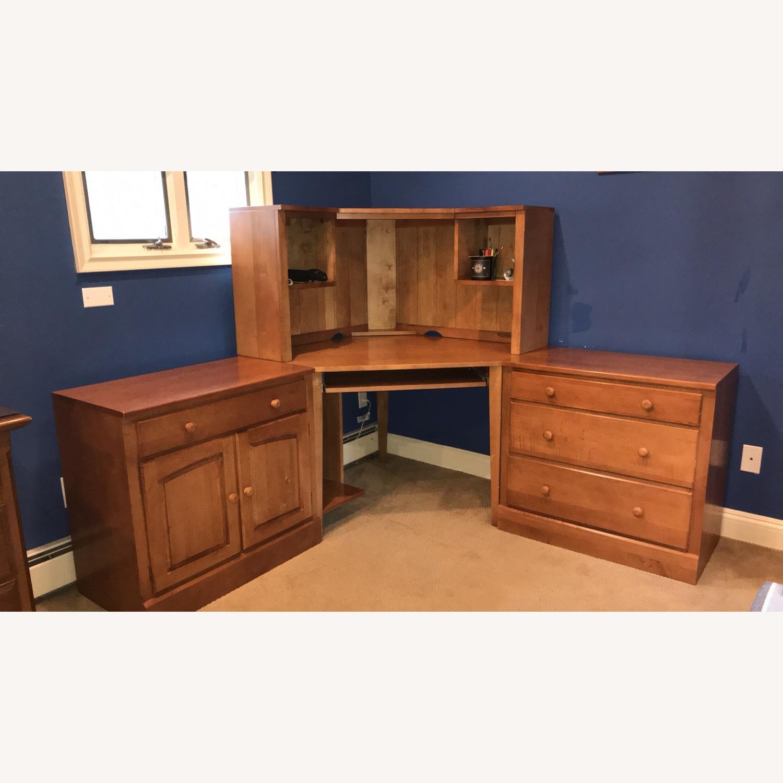 Ethan Allen Corner Desk - image-4