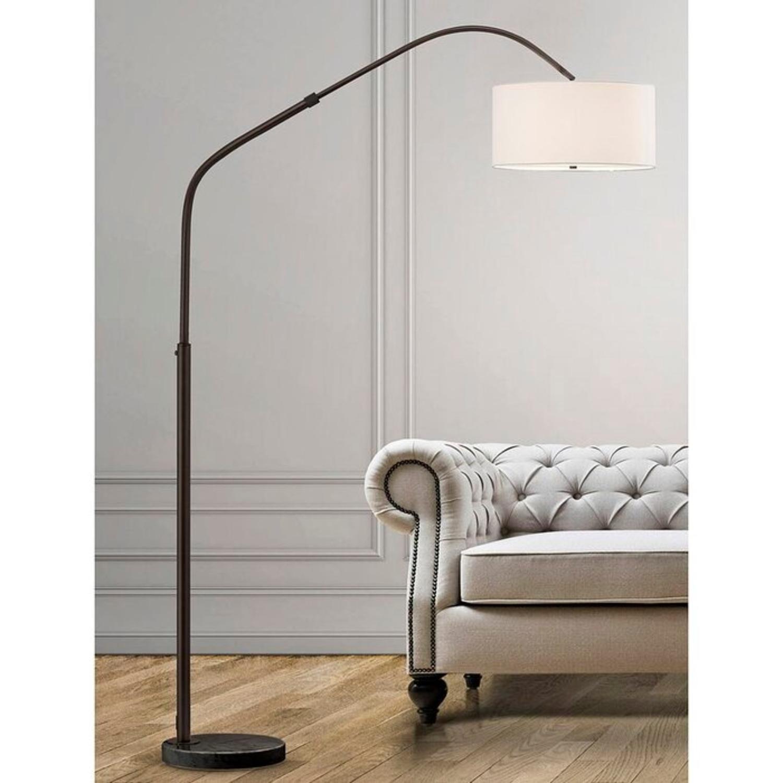 """Wayfair Retractable 81"""" Arc Floor Lamp - image-1"""