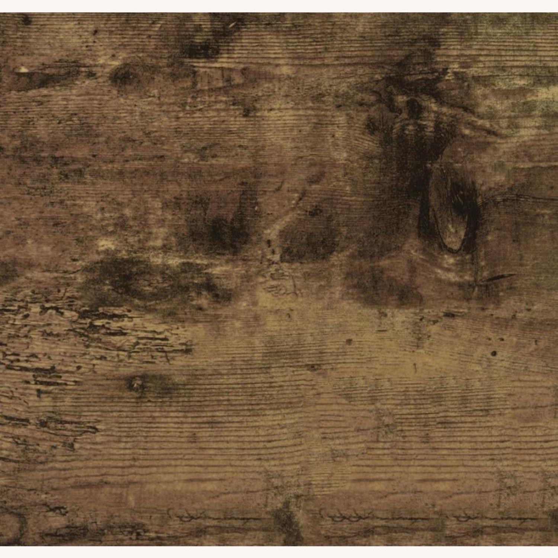 Four-Panel Folding Screen In Antique Nutmeg - image-2