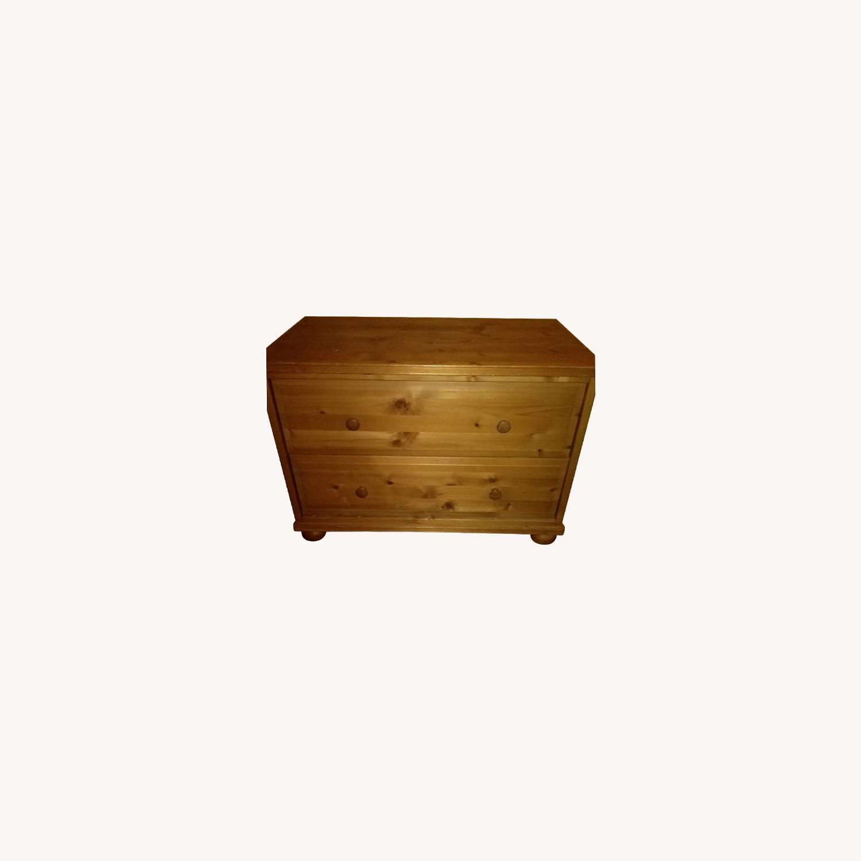 2-drawer Wooden Unit - image-0