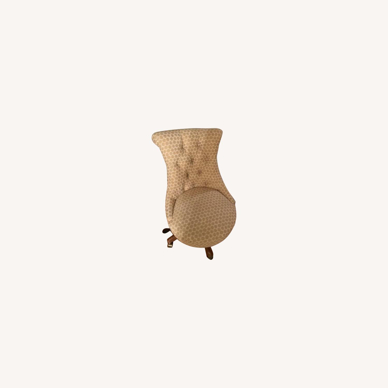 Ballard Designs Elle Tufted Desk Chair - image-0