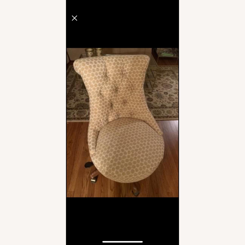 Ballard Designs Elle Tufted Desk Chair - image-1