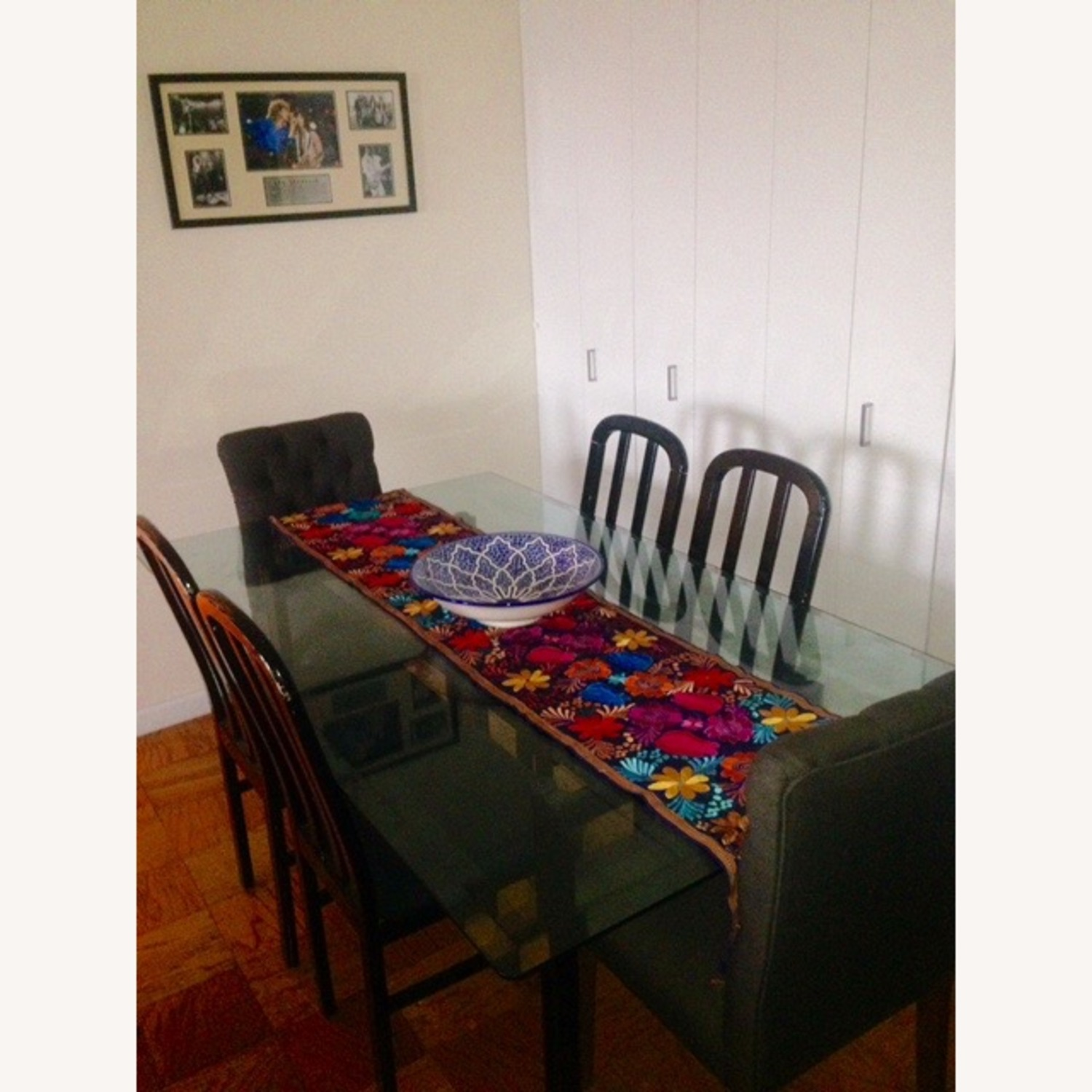 Large Glass Dining Set - image-5