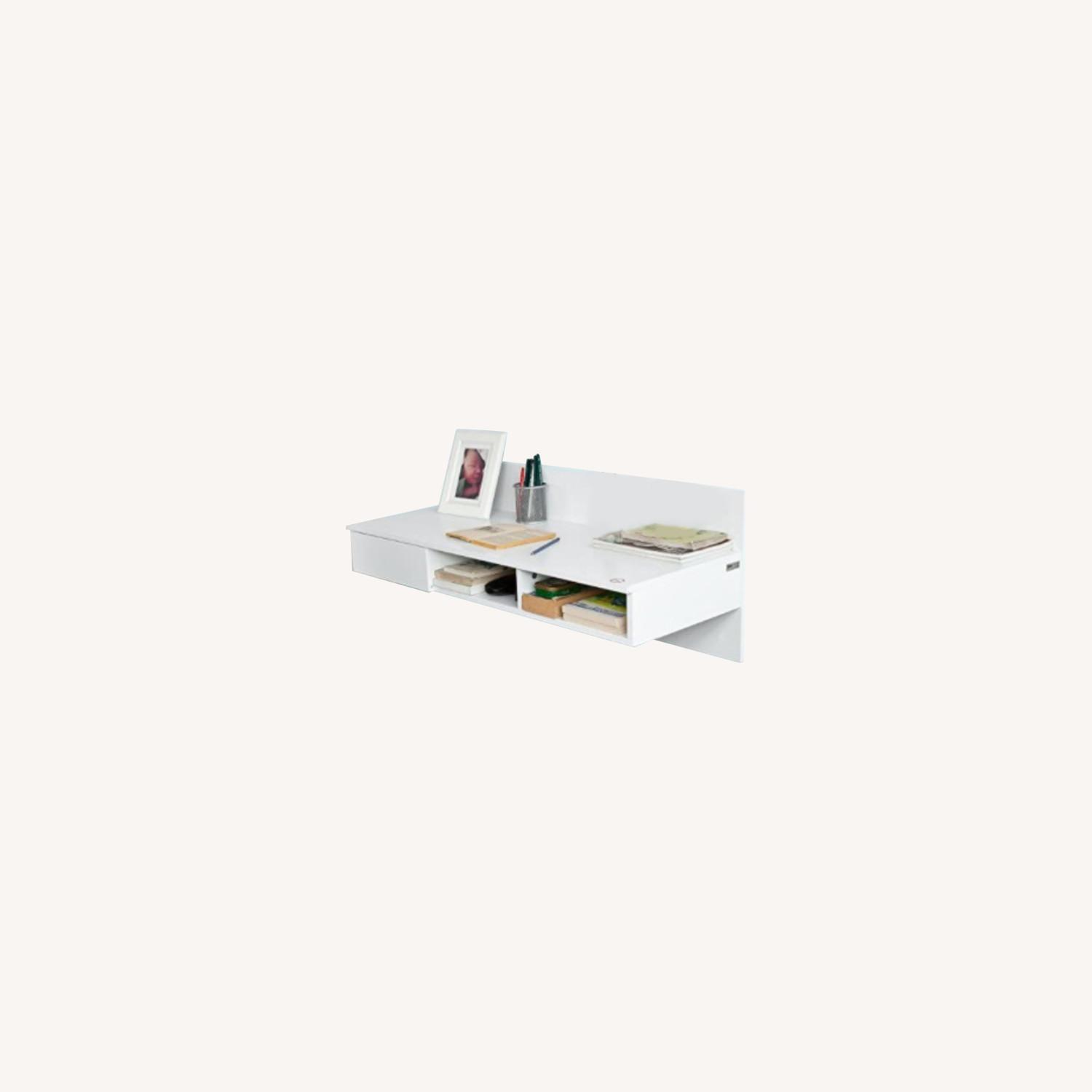 Tribecca Home Wall-Mounted Desk - image-0
