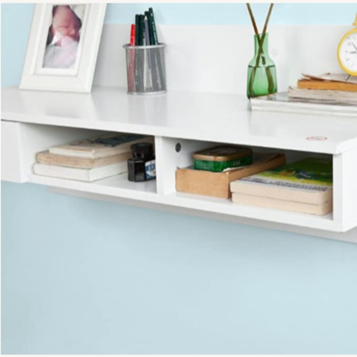 Tribecca Home Wall-Mounted Desk - image-3