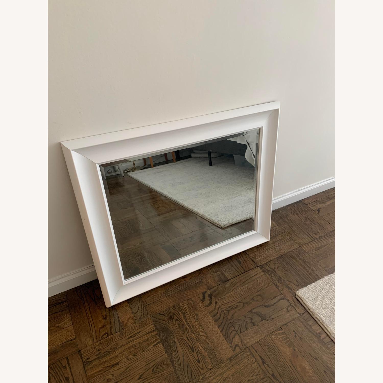 White Wayfair Accent Mirror - image-2