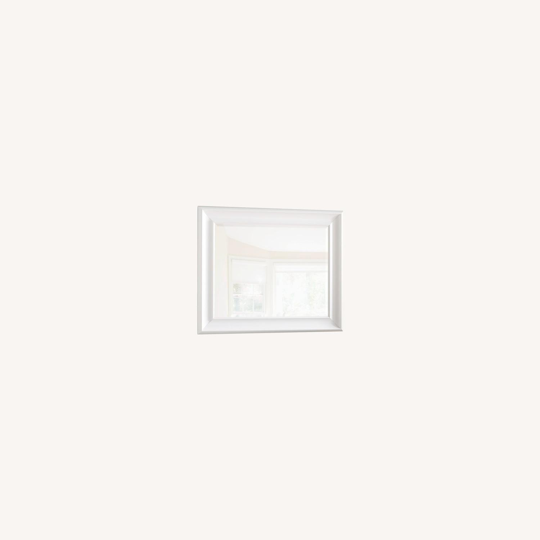 White Wayfair Accent Mirror - image-0