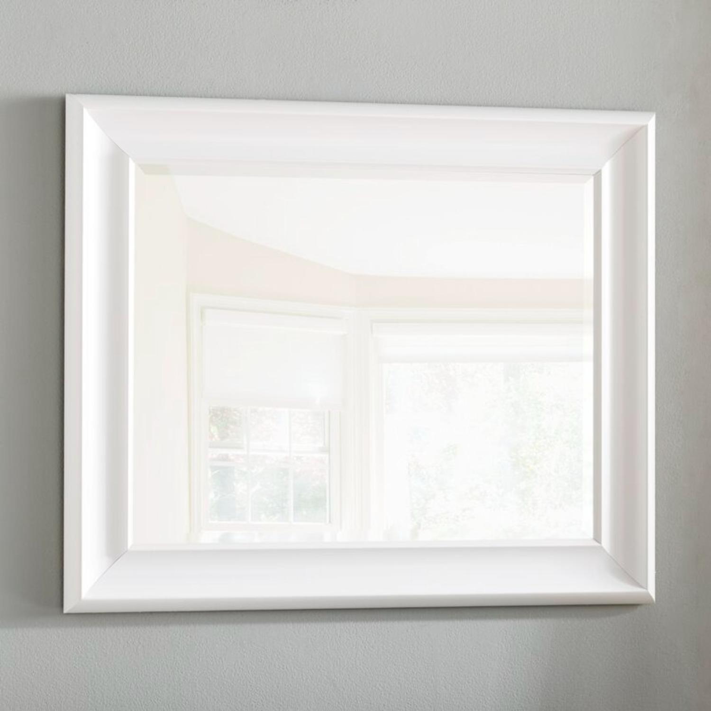 White Wayfair Accent Mirror - image-1