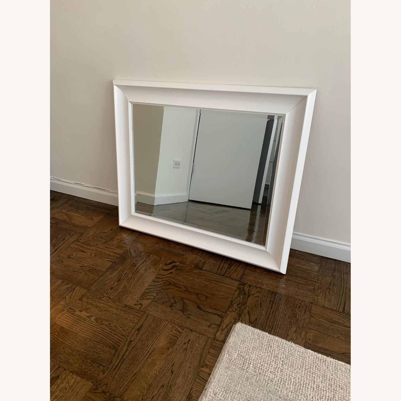 White Wayfair Accent Mirror - image-3