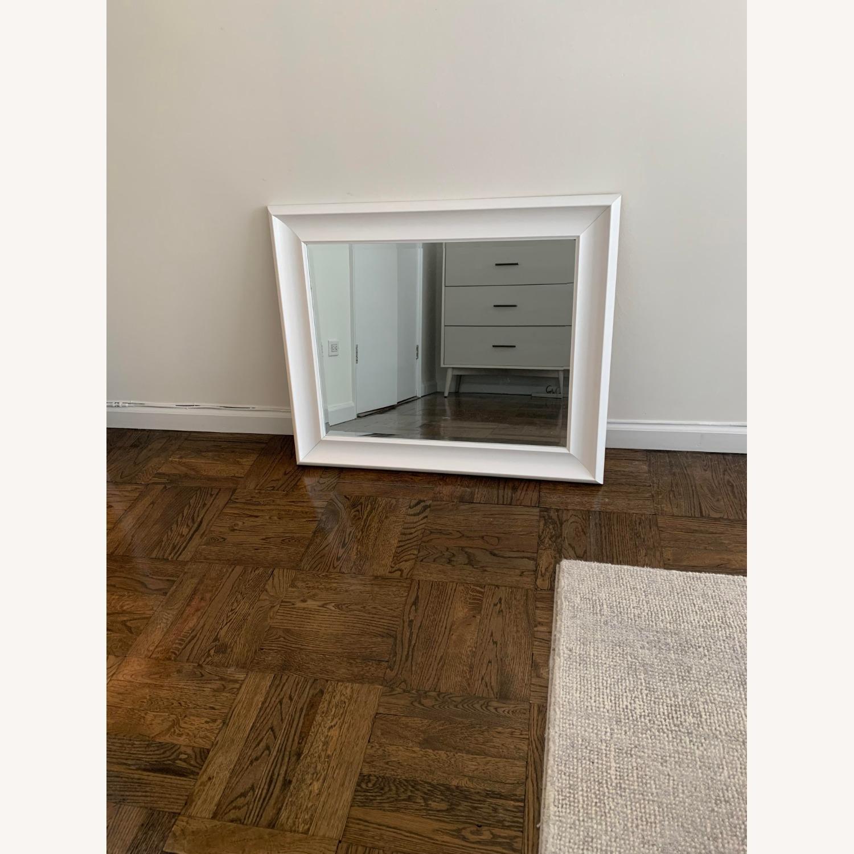 White Wayfair Accent Mirror - image-4
