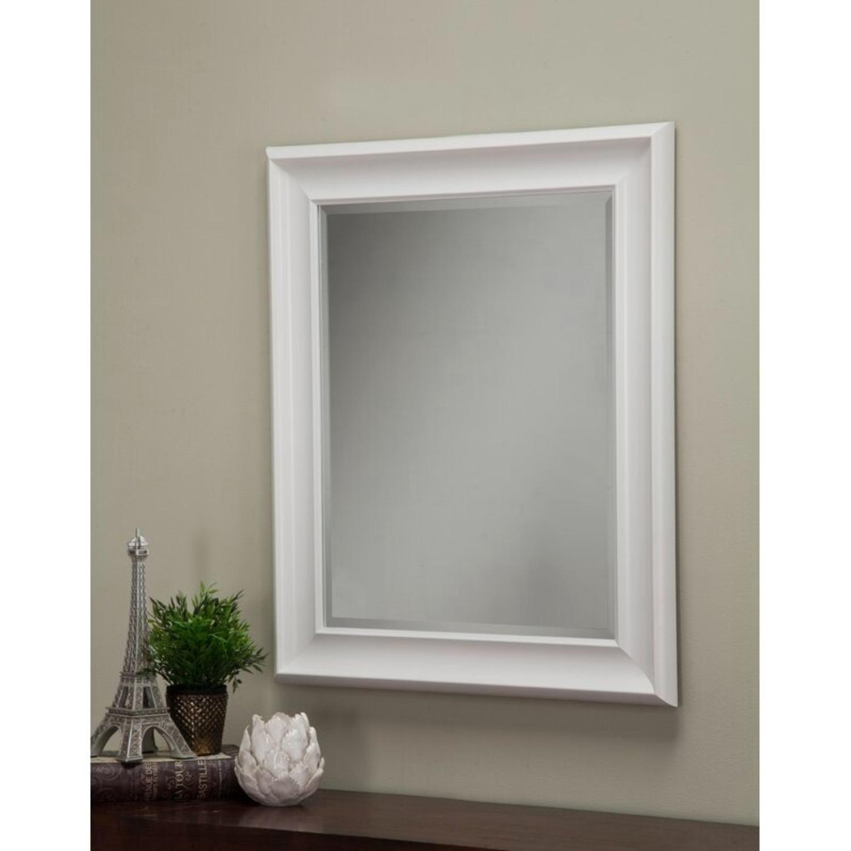 White Wayfair Accent Mirror - image-5