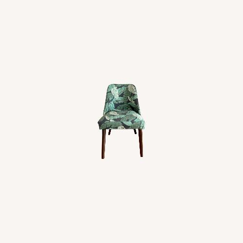 Used Banana Leaf Dining Accent Chair for sale on AptDeco
