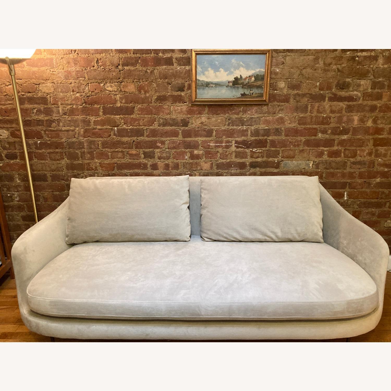 West Elm Gray Esme Sofa - image-1