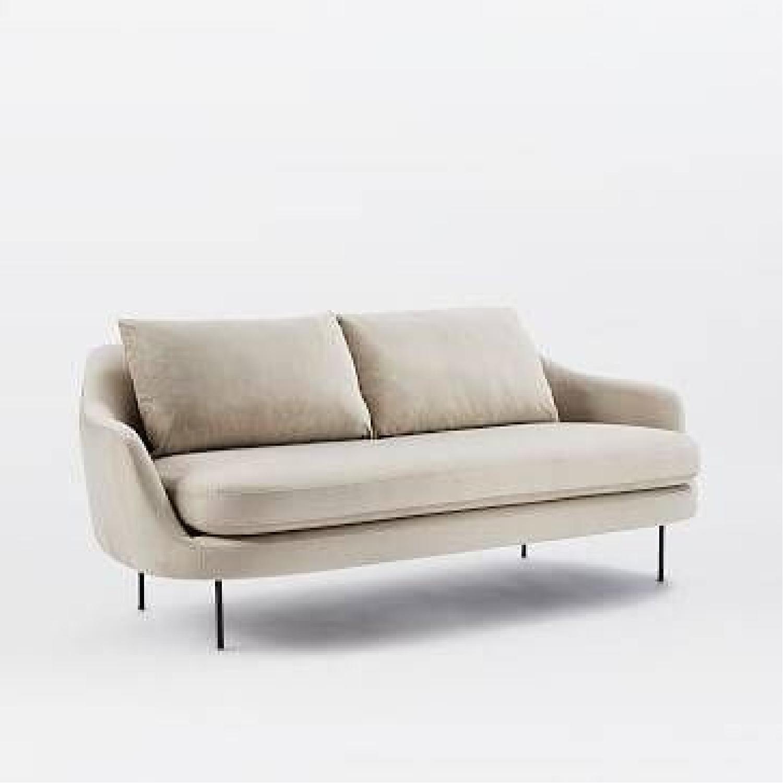 West Elm Gray Esme Sofa - image-5