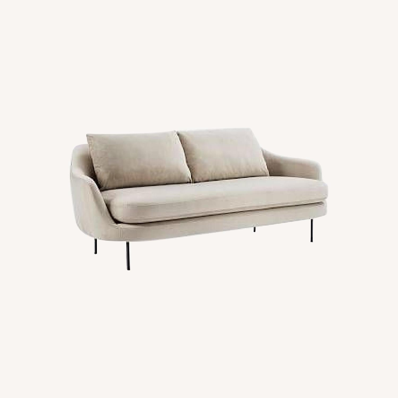 West Elm Gray Esme Sofa - image-0