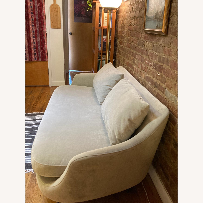 West Elm Gray Esme Sofa - image-3