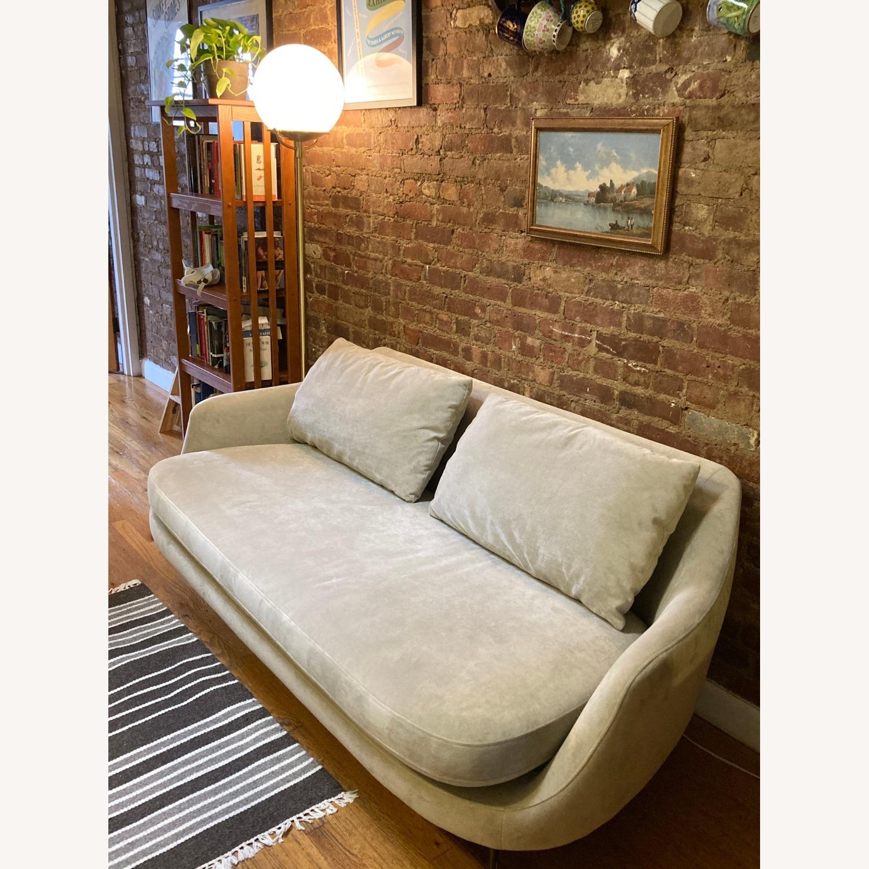 West Elm Gray Esme Sofa - image-2