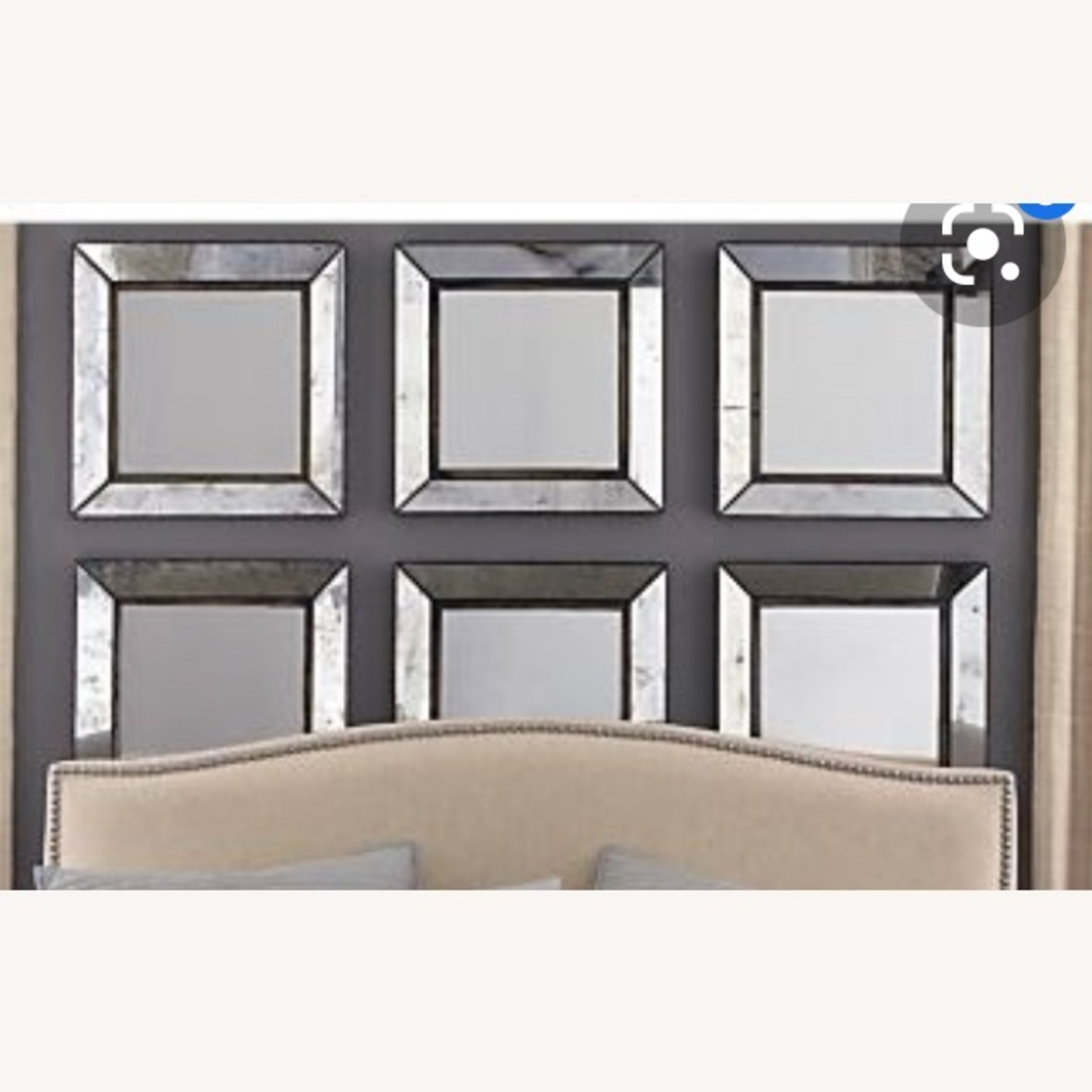 Crate and Barrel Dubois Mirror Set - image-2