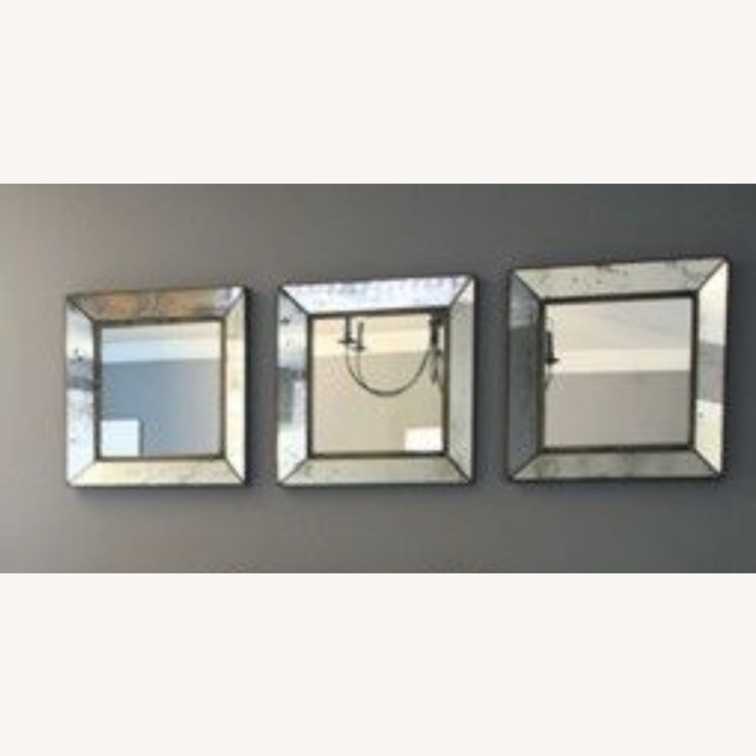Crate and Barrel Dubois Mirror Set - image-3