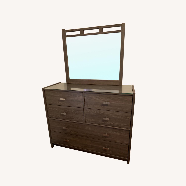 Bob's Discount Furniture Soho Dresser & Mirror - image-0