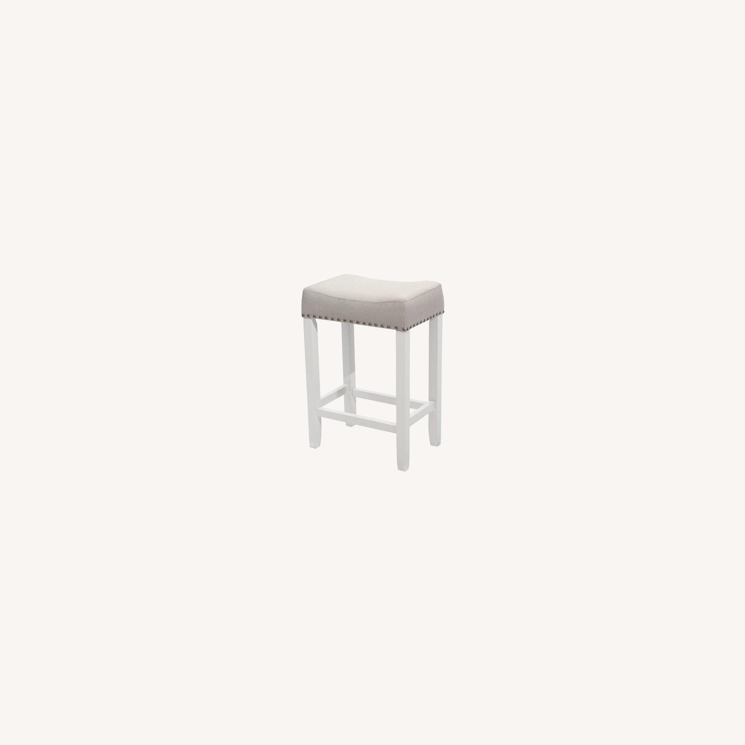 Nathan James Wood Stool - image-0