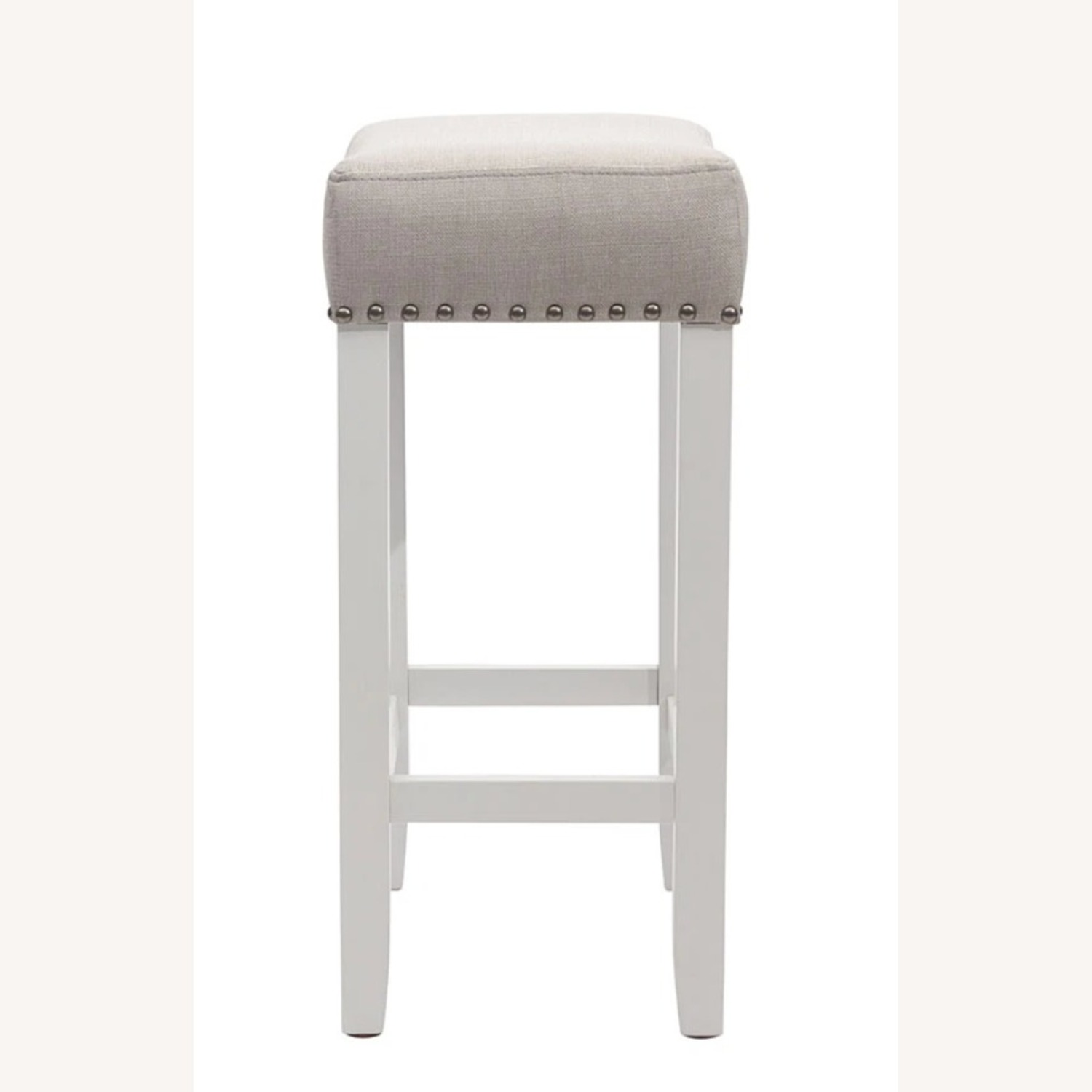 Nathan James Wood Stool - image-2
