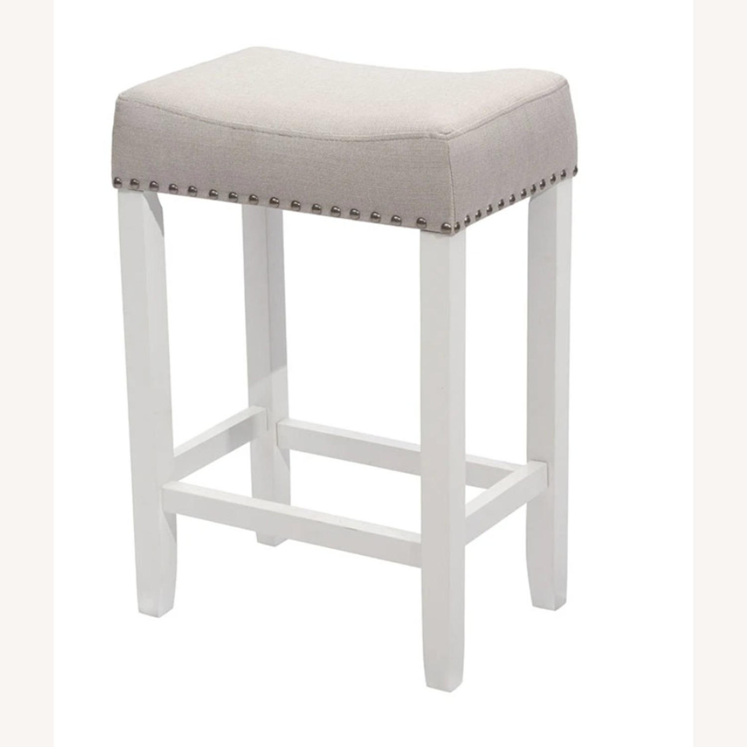Nathan James Wood Stool - image-1