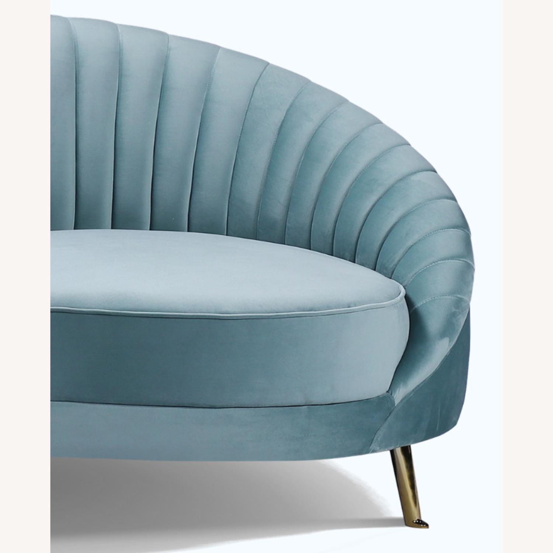 Brooklyn Space Monroe Modern Velvet Sofa - image-5