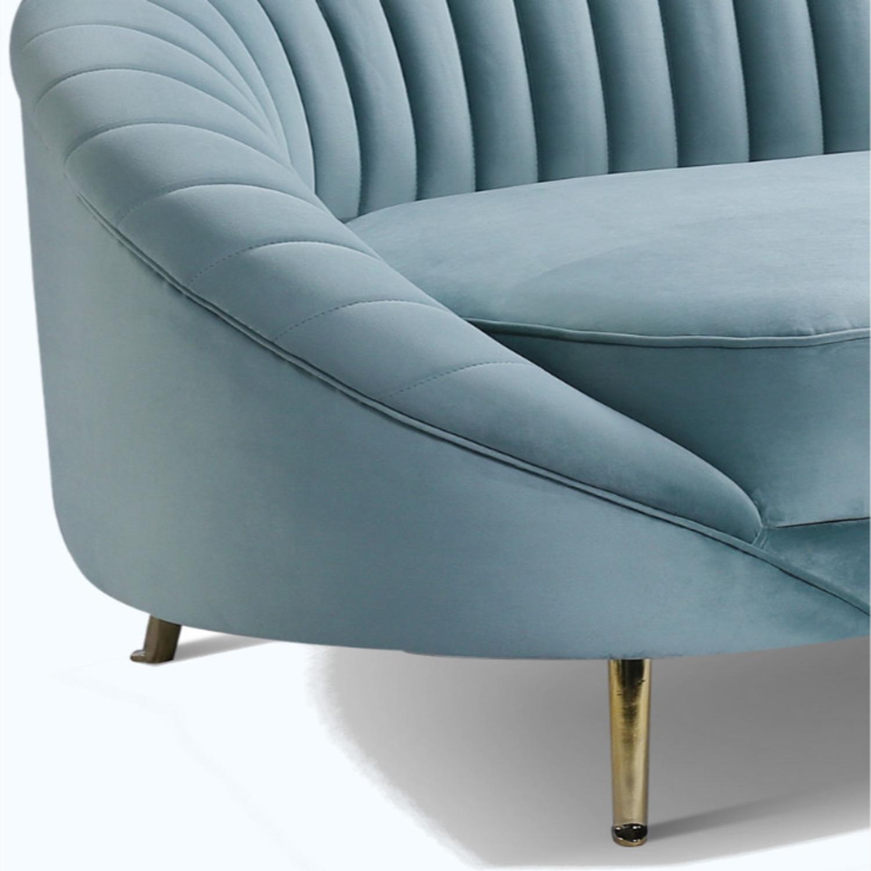 Brooklyn Space Monroe Modern Velvet Sofa - image-4