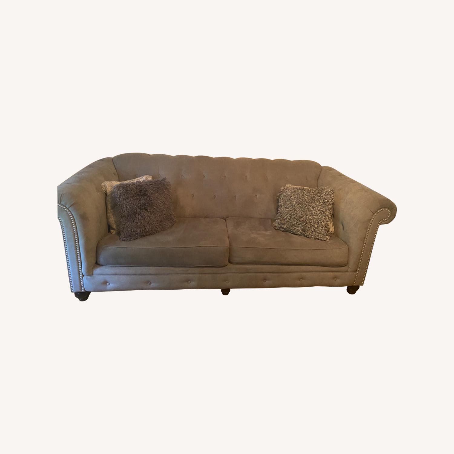 Ashley Furniture Grey Couches - image-0