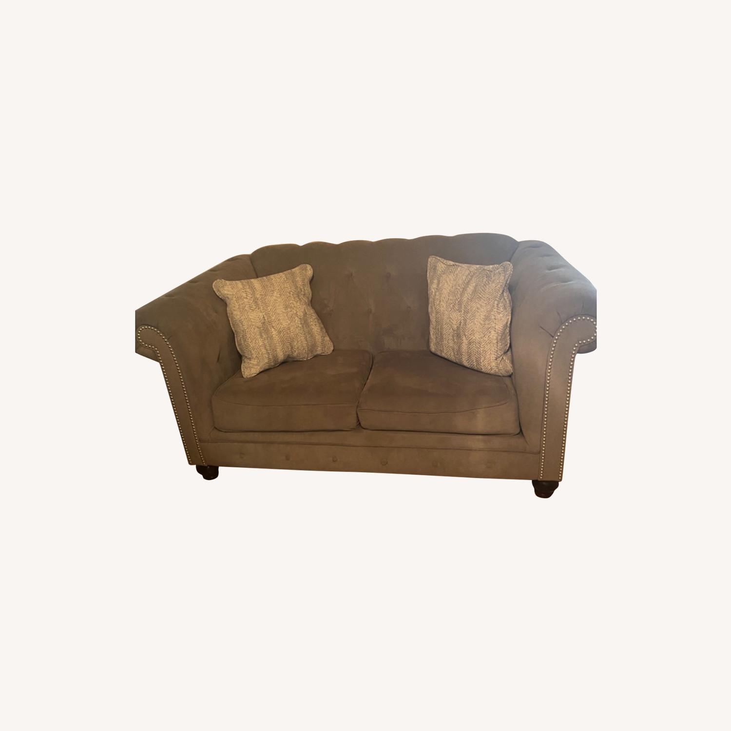 Ashley Furniture Grey Couches - image-6