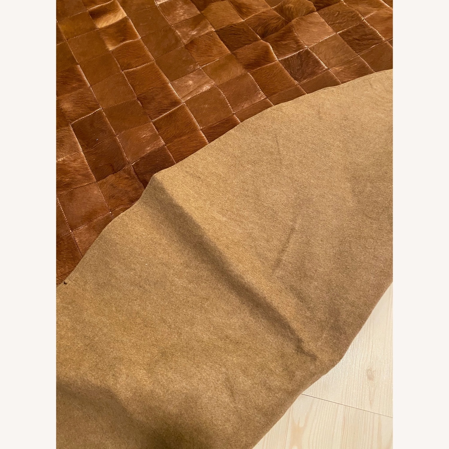 ABC Carpet and Home Cow Hide Patch Rug - image-3