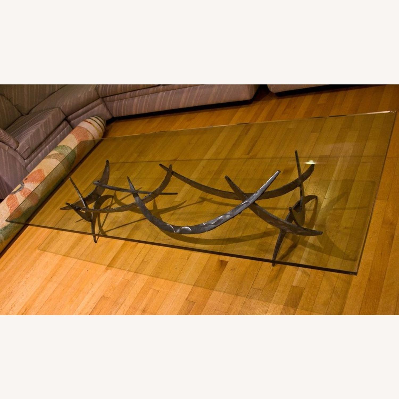 Silas Seandel Glass Coffee Table - image-1