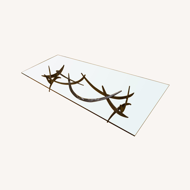 Silas Seandel Glass Coffee Table - image-0