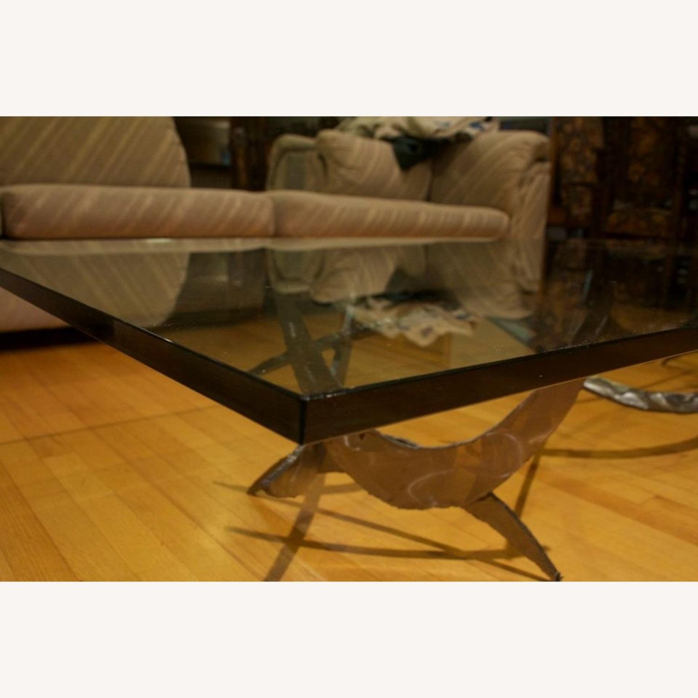 Silas Seandel Glass Coffee Table - image-3