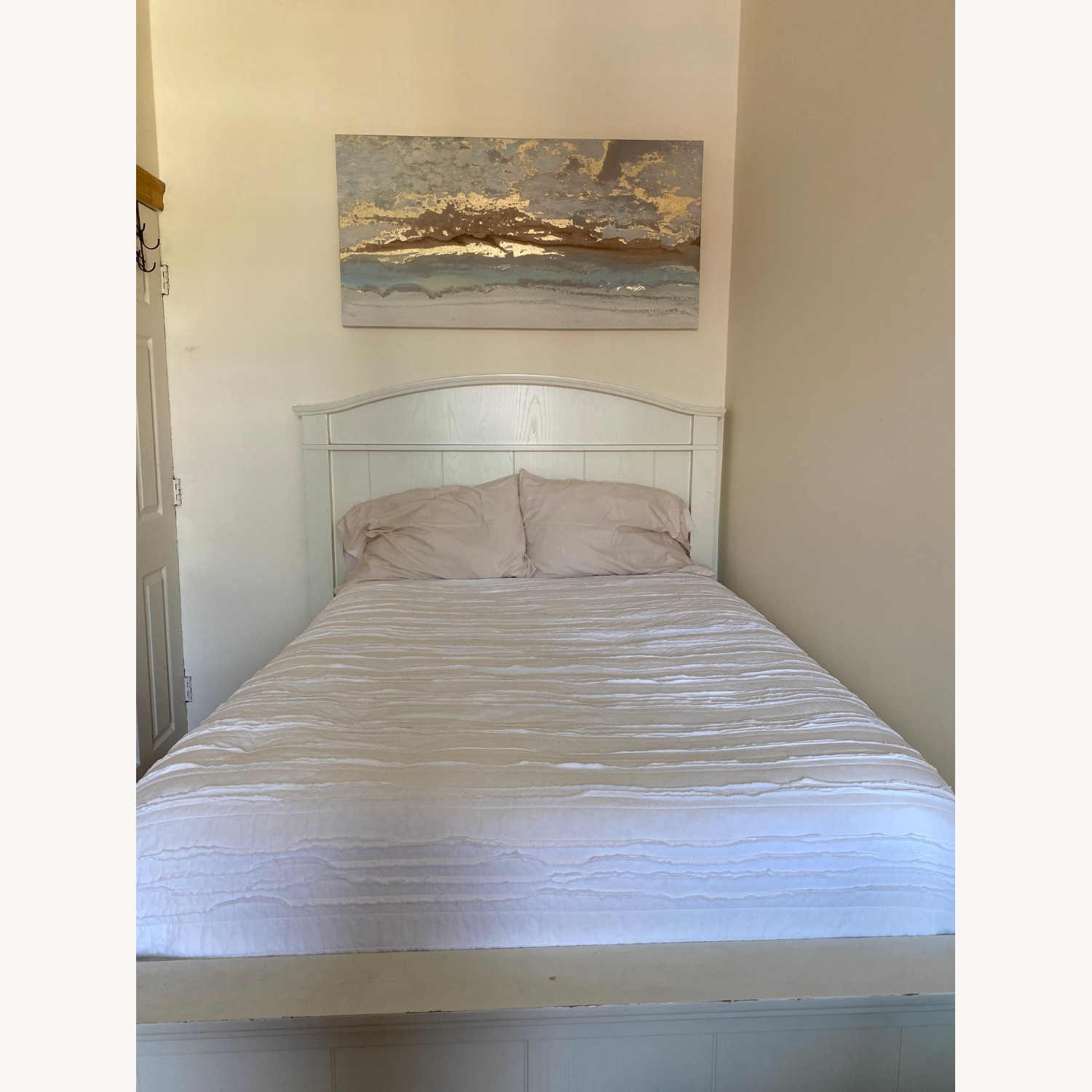 Pottery Barn Full Sized Headboard and Frame - image-1