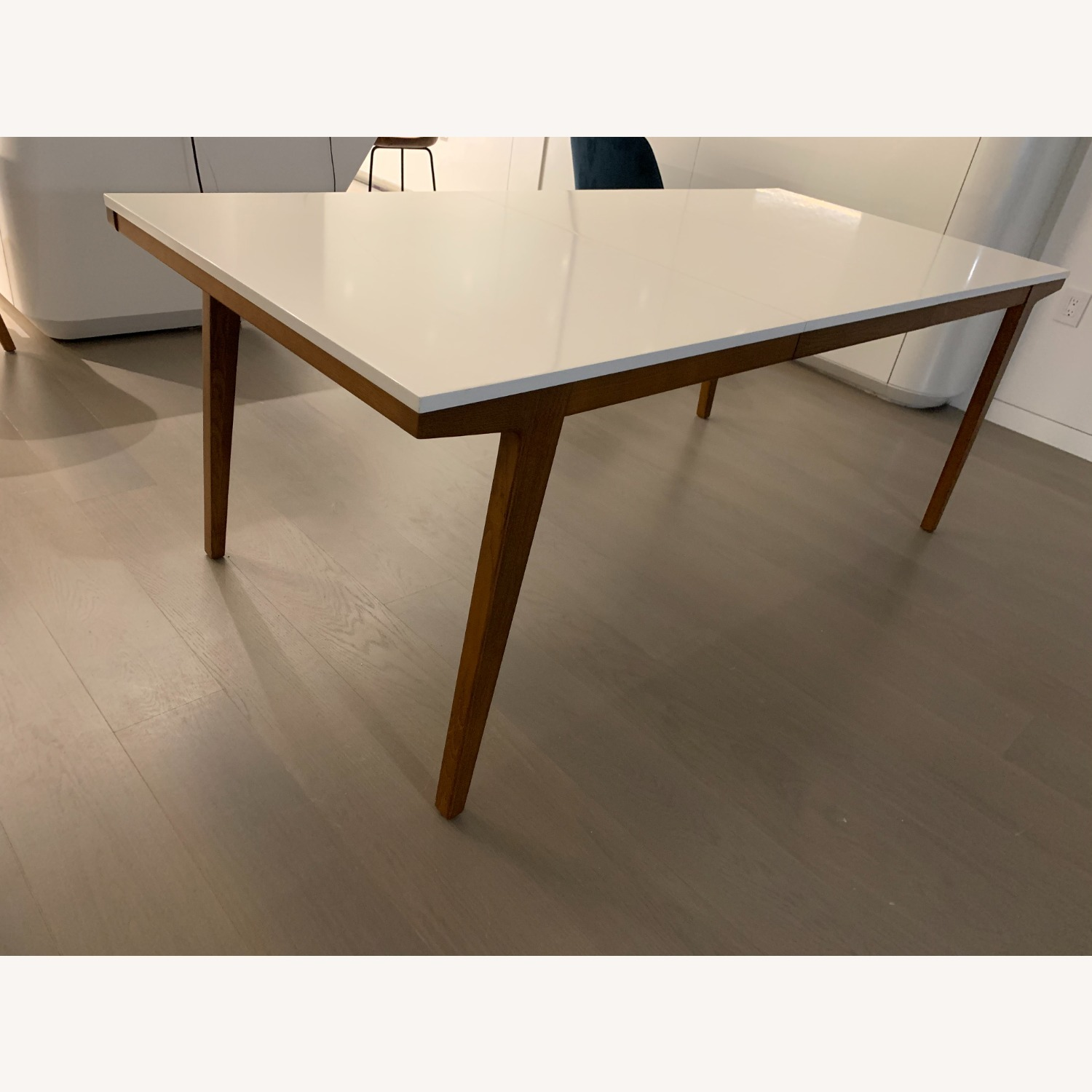 West Elm Expandable Dining Table - image-2