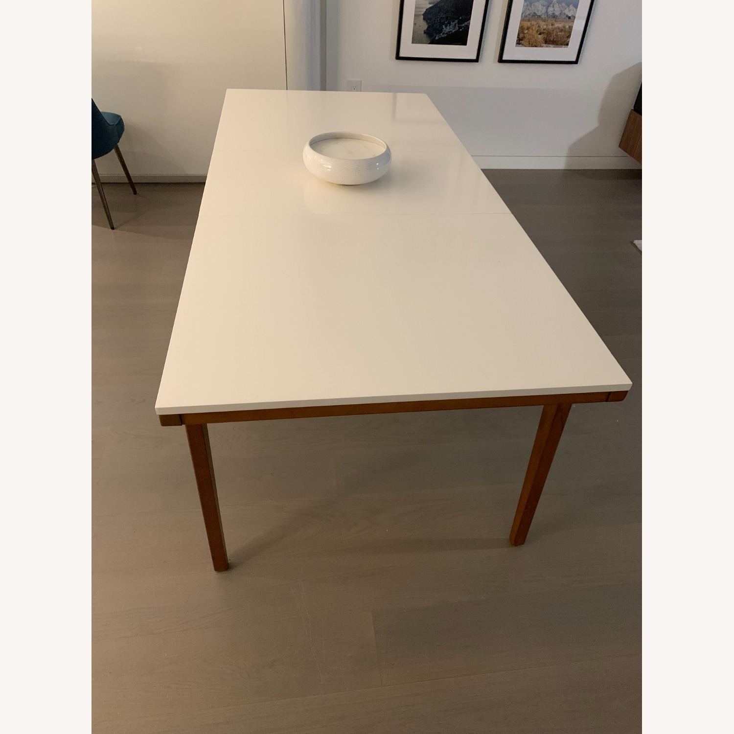 West Elm Expandable Dining Table - image-1