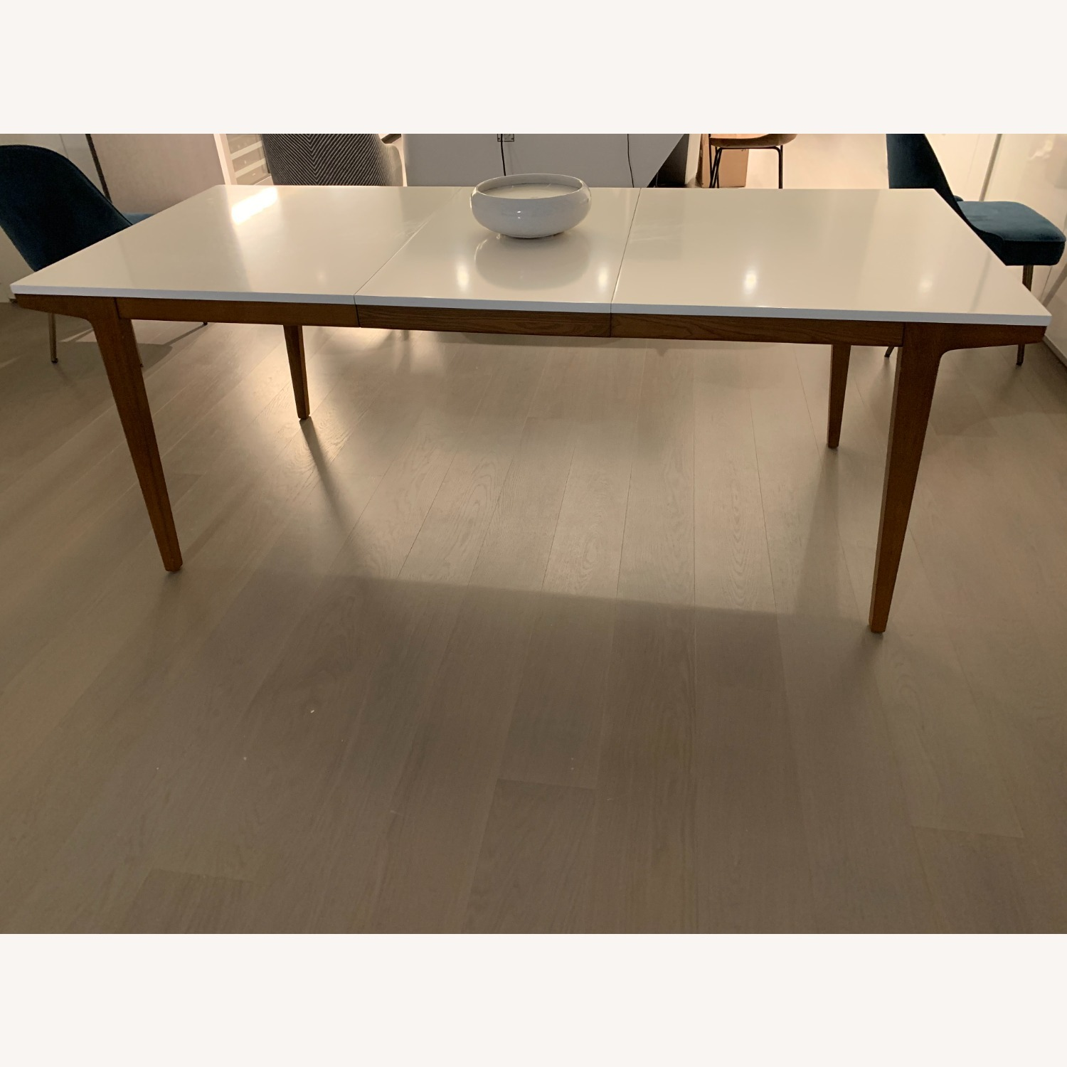 West Elm Expandable Dining Table - image-4